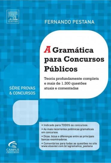 A Gramática Para Concursos Públicos – Fernando Pestana