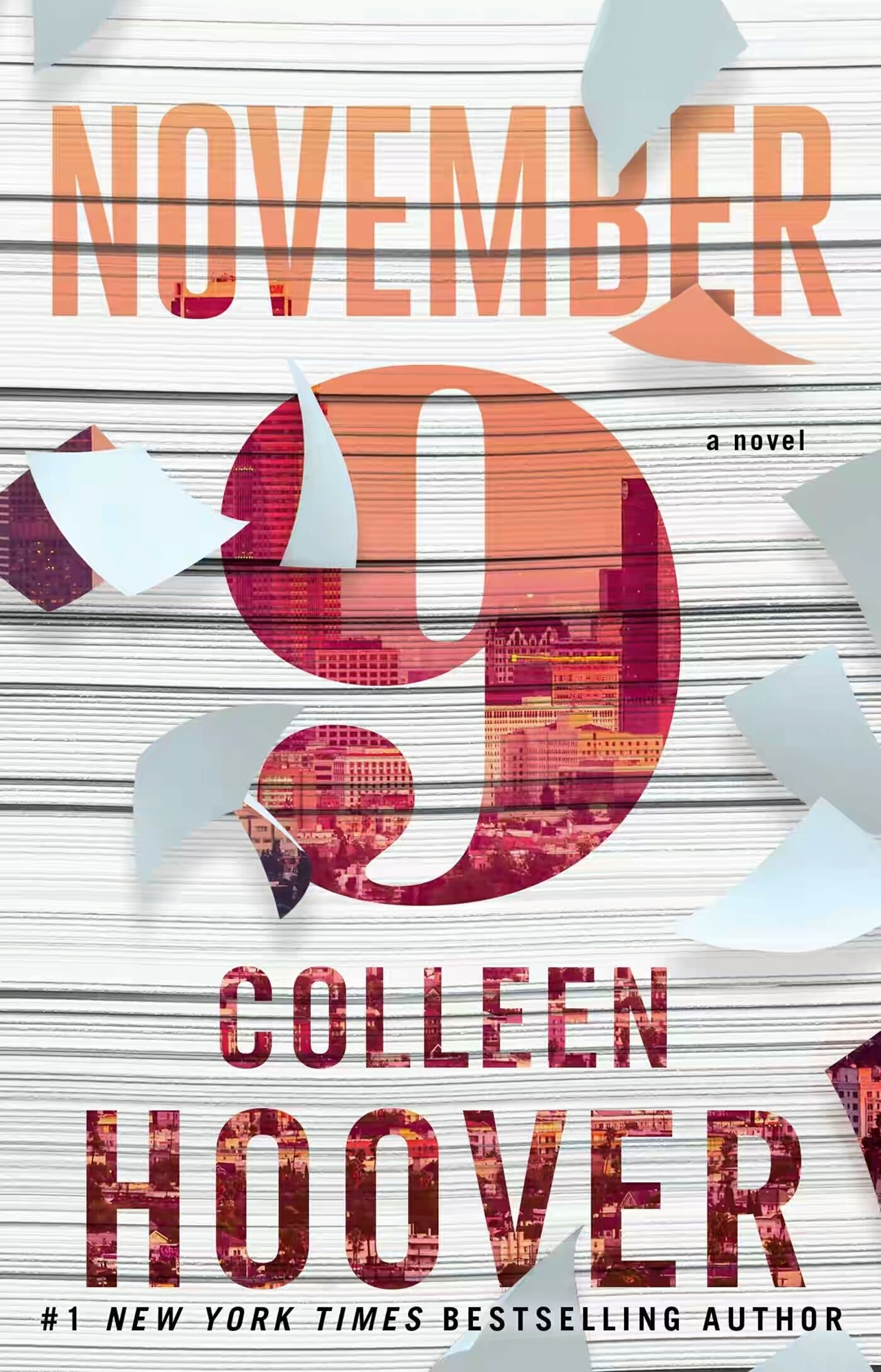 November 9 – Colleen Hoover