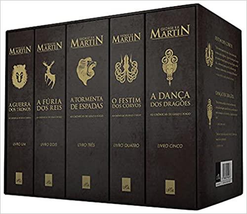 As Crônicas de Gelo e Fogo – A Coleção Completa BOX – George R. R. Martin